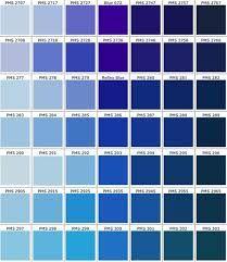 49 Meilleures Images Du Tableau Nuancier Bleu R Color Palette