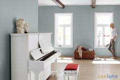 Mit conlino Lehmfarbe schaffen Sie ein natürliches Wohnerlebnis - bleibenden Wert und Lebensfreude