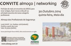 BRADO CONSULTORIA E SERVIÇOS LTDA.: ALMOÇO & NETWORKING