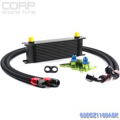 GPLUS 13 ROW AN10 AN ENGINE OIL COOLER KIT FOR BMW MINI COOPER S R56 TURBO BLACK