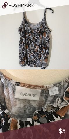 Avenue tank No flaws or damage! Excellent condition! Shop my closet and bundle! All items are only listed for a few days, so take advantage of them if you'd actually like to purchase!! 😺 Avenue Tops