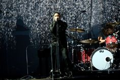 Trent Reznor performs on the 56th Annual GRAMMY Awards on Jan. 26 in Los Angeles