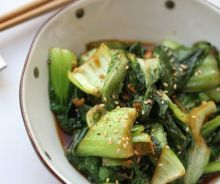 Make this easy and healthy bok choy side dish anytime for your family at home. Healthy Side Dishes, Side Dishes Easy, Vegetable Side Dishes, Vegetable Recipes, Vegetarian Recipes, Cooking Recipes, Healthy Recipes, Vegan Dishes, Diabetic Recipes
