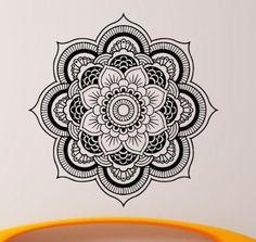 Mandala Flower Wall Sticker Decal Floral Vinyl Removable Art