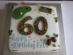 60th Birthday Cake Theme Cakes For Men Happy Wishes
