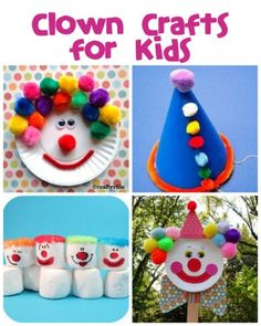 Clown Crafts, Printables & Recipes - Fun Family Crafts