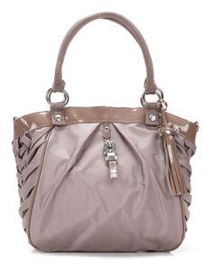 wardow.com - #gglworld, George Gina & Lucy, Just Braidy F FINE Handtasche beige 32 cm