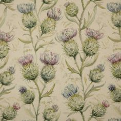Save on our Winter Thistle Glen Traditional Fabric from Voyage Maison; perfect for creating Curtains & Blinds. Fabric Blinds, Curtains With Blinds, Curtain Fabric, Fabric Decor, Curtain Lining, Thistle Wallpaper, Voyage Fabric, Sewing Room Decor, Furniture