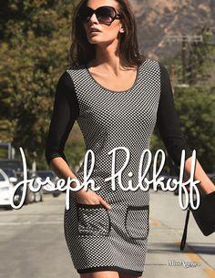 Joseph Ribkoff Tunic Top 2014.  So cute with a pair of black leggings + flats.