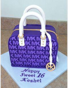 Michael Kors Purple Cake Purse