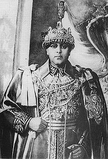 King Tribhuvan of Nepal reighed from december 1911 - March 1955 he was in exile from November 1950 - 18 February 1951