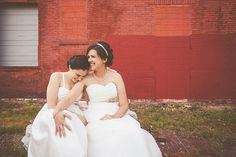Creative wedding photography - same sex wedding - St Louis - Hawes Photography