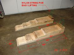 oil changing ramp | Make your own oil change ramps for $15 - Page 3 - RedFlagDeals.com ...