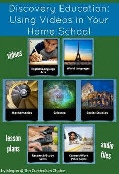 Discovery Education: Using Videos in Your Home School   I love that Discovery Education gives me 24/7 streaming access to thousands of videos. Whatever subject I'm looking to enhance, I know I'll find something easily. Education Possible