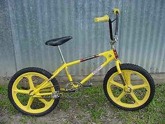 1981 Motomag Mongoose BMX Bike