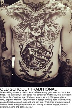 Categories of Tattoos - ULTIMATE LIST!! Black&White, Tribal, Biomechanical, Japanese/Asian, Wotwork/Geometric, Watercolor, Realism, Blackwork, UV, White Ink, Linework, Etching AND different styles