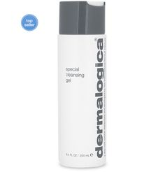 dermalogica special cleansing gel gentle foaming cleanser  Soap-free, foaming gel cleanses all skin conditions. Refreshing lather thoroughly removes impurities without disturbing the skin's natural moisture balance