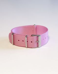 Pink Nato Watch Strap   The Strapster