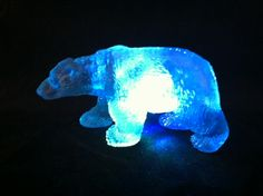 Super Squishy Flashing Polar Bear