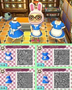 Animal Crossing New Leaf bunny maid