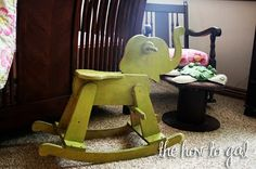 Rocking Elephant Revamp | The How-to Girl