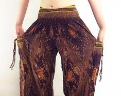 PLUS SIZE XXL Women Yoga Pants Aladdin Pants Boho Pants Gypsy | Etsy Gypsy Pants, Boho Pants, Blue Trousers, Harem Pants, Wide Leg Yoga Pants, Thai Pants, Aladdin Pants, Hip Ups, Plus Size Pants
