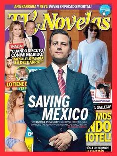 """Time's Peña Nieto 'Saving Mexico' Cover Sparks Confusion, Outrage  Mexicans respond mockingly to ridiculous Time Magazine cover story  Under the banner of """"Saving Mexico,"""" Time Magazine has put Enrique Peña Nieto on the cover of its February 24 international edition.  Many who first saw the cover this morning responded with, """"Is this a joke?"""" When people realized it wasn't, it unleashed a backlash in Mexico and from Mexicans throughout the world toward Time and the cover story's author…"""