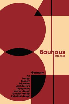 Welcome to the official Bauhaus Movement Magazine. The State Bauhaus was founded by Walter Gropius as a school of arts in Weimar in As the Bauhaus was a combination of. Bauhaus Art, Bauhaus Design, Bauhaus Logo, History Posters, Poster Design Layout, Design Movements, Walter Gropius, Design Graphique, Graphic Design Illustration