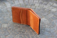 Horween 100% Vegetable Tanned Natural Calfskin (from the 1940s) and Natural Shell Cordovan Bifold - Album on Imgur