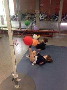 Luftballon-Fußball