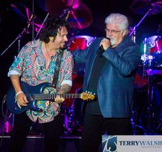 Steve Lukather of Toto & Michael McDonald  Choctaw Event Center, Durant, OK 2014
