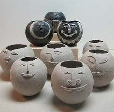 365 Days of Pinch Pots: January 2011