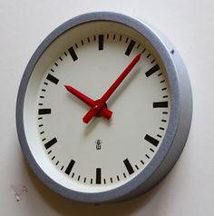 Vintage Factory Clock
