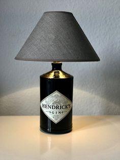Hendricks Bottle Lamp