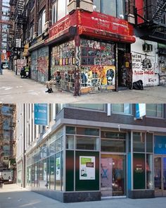 """""""STORE FRONT: The Disappearing Face of New York"""" is a new photo series that document flashes of the city's transformations only over a span of a decade. 