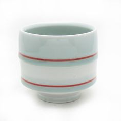 Shop: Red Line - The Clay Studio - tea cup
