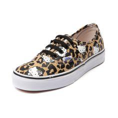 vans hello kitty leopard