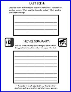 book report mystery genre Book reports i abcteach provides over 49,000 worksheets page 1 your students will love this 'book report form: mystery (upper elem/middle).