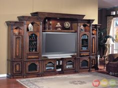 Modern And Classic Home Entertainment Furniture Styles. Rustic Chic Cherry Teak Wood Varnish Home Entertainment Wall Mounted Tv Rack Come With Accessories Shelves And Base Cherry Storage Cabinets. Home Entertainment Furniture Large Entertainment Center, Entertainment Center Decor, Entertainment System, Diy Barn Door, Diy Door, Barn Doors, Tiny House, Home Entertainment Furniture, Parker House