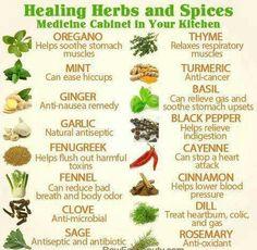 Healing herbs n spices