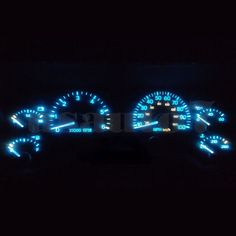 Lighting and gauges may appear different depending on light entering vehicle and vehicle year, make, and model. Easy to install, no soldering or modifications needed, plug and play LEDs. | eBay!