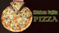 Delicious Chicken Fajita Pizza Recipe 🍕🍕 in Urdu/ Hindi Pizza Recipe In Urdu, Pizza Recipes, Fajita Pizza, Chicken Fajitas, Indian Dishes, Yum Yum Chicken, Delish, Homemade, Breakfast