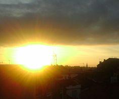 j'aime me lever et voir cette merveille, depuis ma terrasse ...