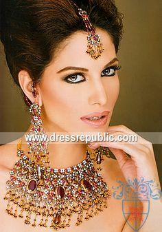 Style DRJ1441, Product code: DRJ1441, by www.dressrepublic.com - Keywords: Kundan Jewlry in California, Kundan Jewelry in California, Indian Pakistani Jewelers USA
