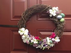 Homemade Easter Wreath!