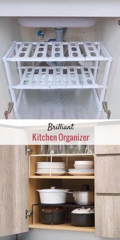 Kitchen Room Design, Home Decor Kitchen, Kitchen Furniture, Kitchen Interior, Home Kitchens, Diy Furniture, Kitchen Ideas For Apartments, Ikea Kitchen Storage, Small Kitchen Organization
