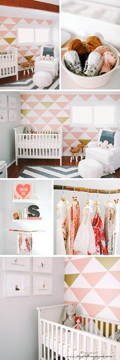 tiny tribe magazine | Showcasing stylish children's interiors | {Peach Simplicity}