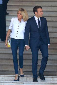 Emmanuel Macron Brigitte Macron vote législatives Touquet
