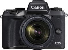 Canon - EOS M5 Mirrorless Camera with EF-M 18-150mm Telephoto Zoom Lens