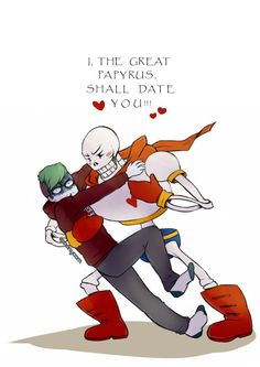spoonycorn: Jacksepticeye + Papyrus from Undertale It was so romantic. ♥  therealjacksepticeye: OH NO! YOU'RE MEETING ALL OF MY STANDARDS